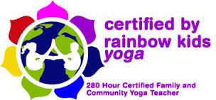 rainbow kids yoga lovo