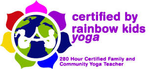 rainbow kids yoga lovo